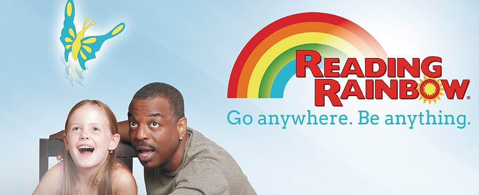 How the Internet Brought Reading Rainbow Back to Life