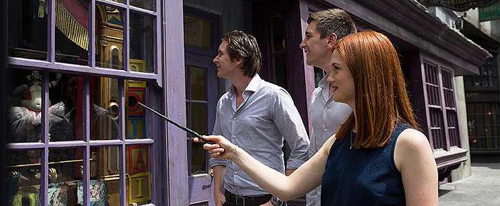 The Interactive Wand Muggles Have Waited Their Whole Lives For