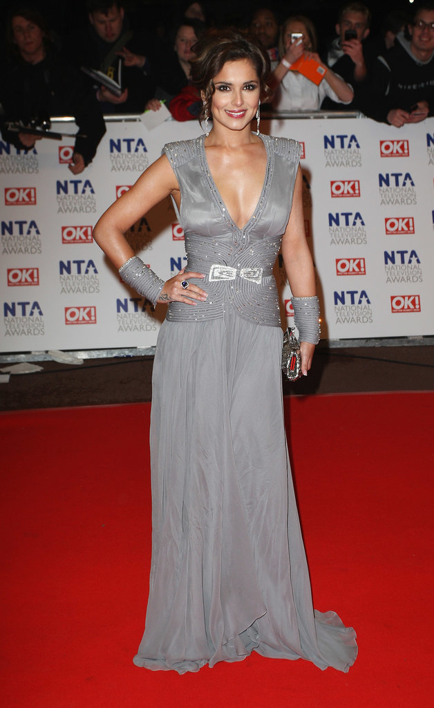 In January 2010, Cheryl turned to Stéphane Rolland for this couture creation with matching wristbands, worn to the National Television Awards.