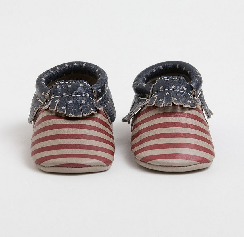 Freshly Picked Born in the USA Moccasins