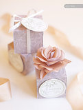 Wedding Favor Box and Tags
