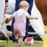 Pictures Of Prince George Kicking A Soccer Ball