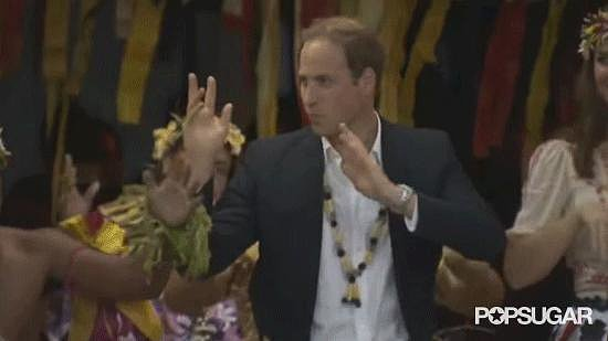 Prince William Loves to Dance