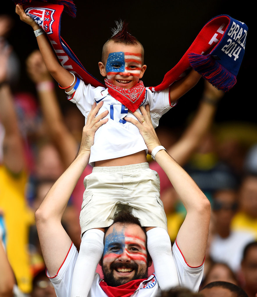 This Ridiculously Cool Father-Son Fan Duo
