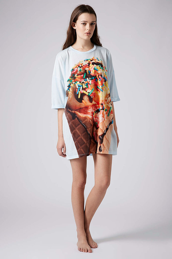 Topshop Ice Cream Print Sleep Tee