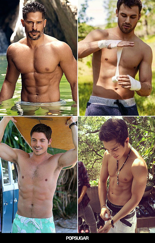 These Shirtless Snaps Will Heat Up Your Summer