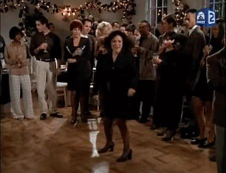 And Of Course, When Elaine Does the Greatest Dance in TV History