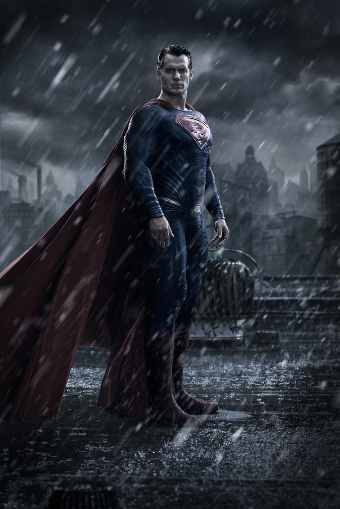Then, a picture of Cavill as Superman was released. Yep, he's just as dreamy as we remember.