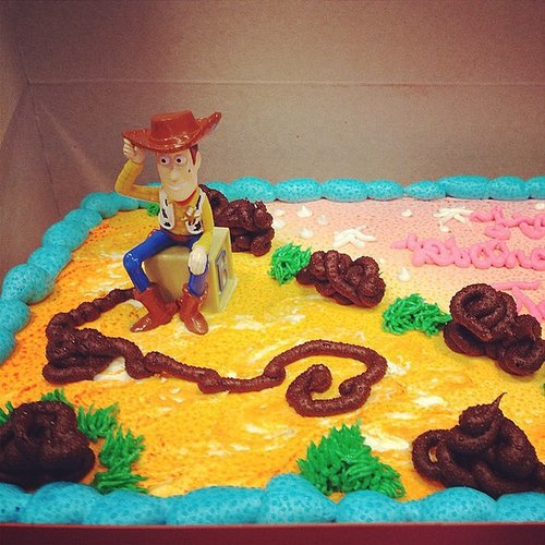 Too Much Cake, Woody?