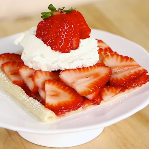 Easy Strawberry Tart Recipe | Video