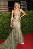 Naomi Watts took mermaid dressing to the next level with this tulle gown that created the illusion of scales.