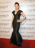 Kate Beckinsale wore a gothic fishtail dress to the Underworld: Evolution  Los Angeles ppemiere in 2006.