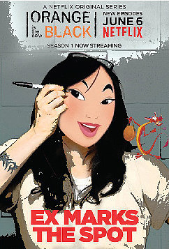 Mulan as Alex