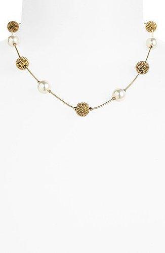 Anne Klein Station Collar Necklace