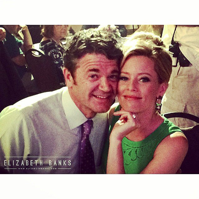 Yes! Banks showed us that John (John Michael Higgins) and Gail would be making another appearance. Source: Instagram user elizabethbanks