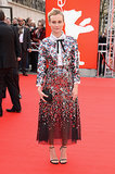 God bless America Diane. The style ace sparkled in an all-Americana Chanel duo at the 2014 Berlin Film Festival.