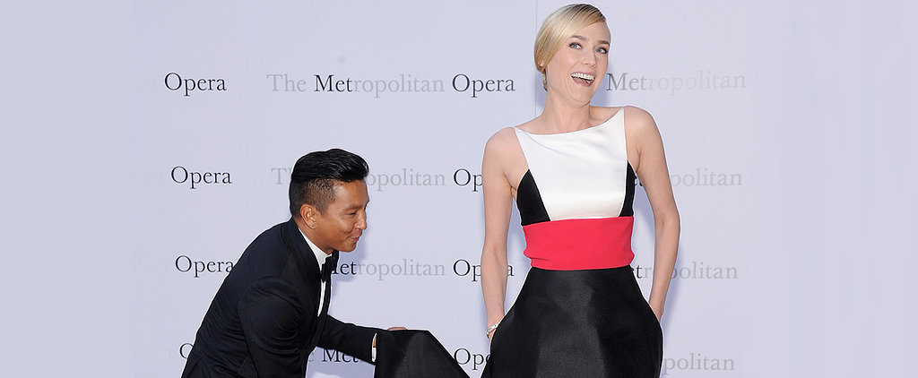 Even Prabal Gurung Wants to Know Diane Kruger's Red Carpet Secret