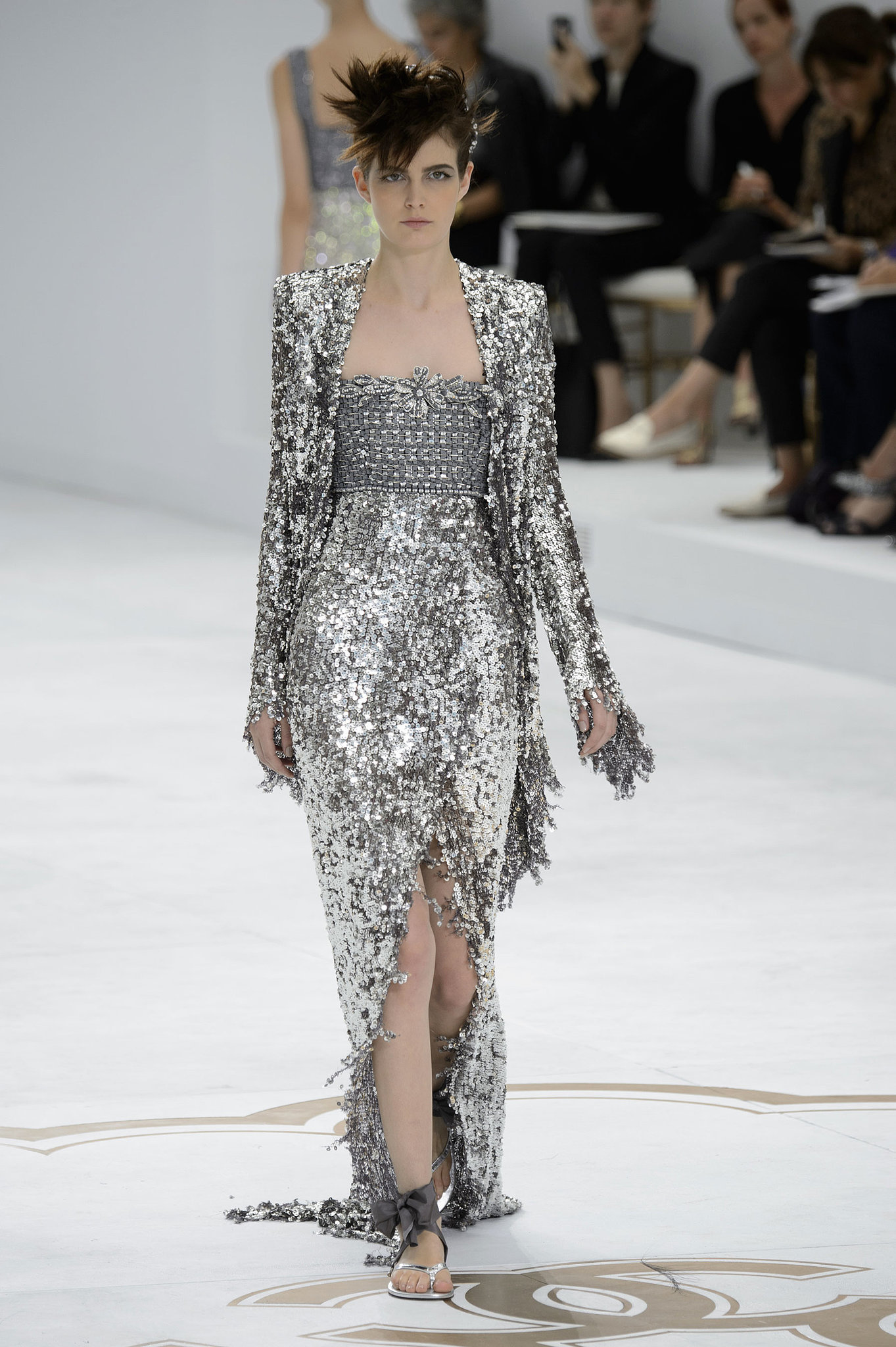 Chanel haute couture fall 2014 karl lagerfeld had 1 for Alta couture