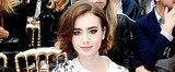 You Have to See Lily Collins's Cute New Summer Haircut