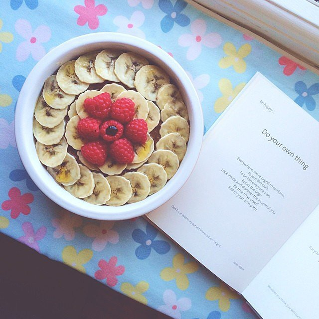 Who needs a latte when you have a bowl of coffee-charged overnight oats? Not this reader.  Source: Instagram user eatnourishlove