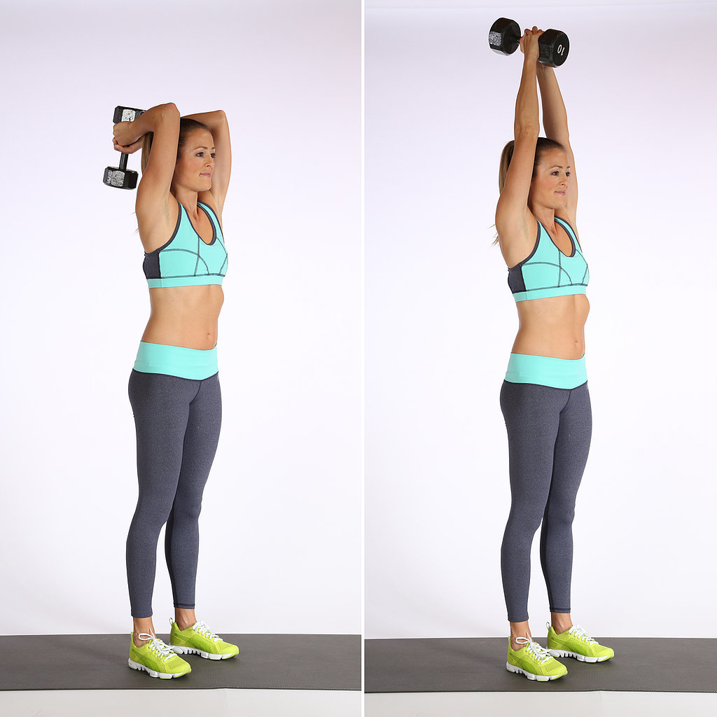 Overhead Triceps Extensions