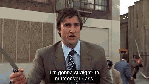 When Luke Wilson Shows Up in Said Brawl