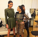 Kendall Jenner Jokes About Kim Kardashian's Height; Mario Testino Posts Photo of Kim's Butt: Pictures