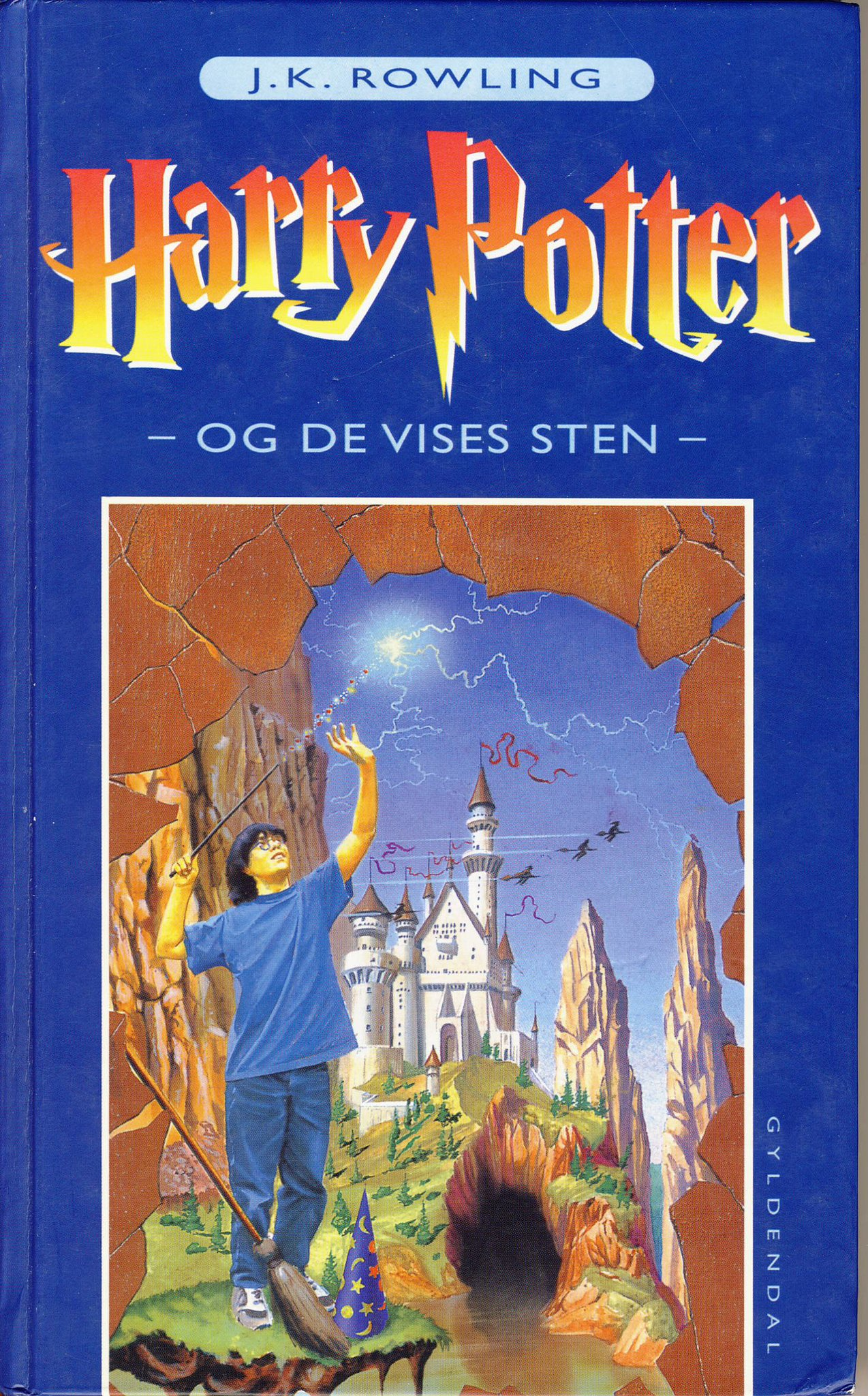 Harry Potter and the Philosopher's Stone, Denmark