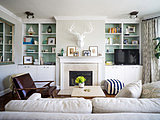 Paint Your Bookcases to Transform Your Room (10 photos)