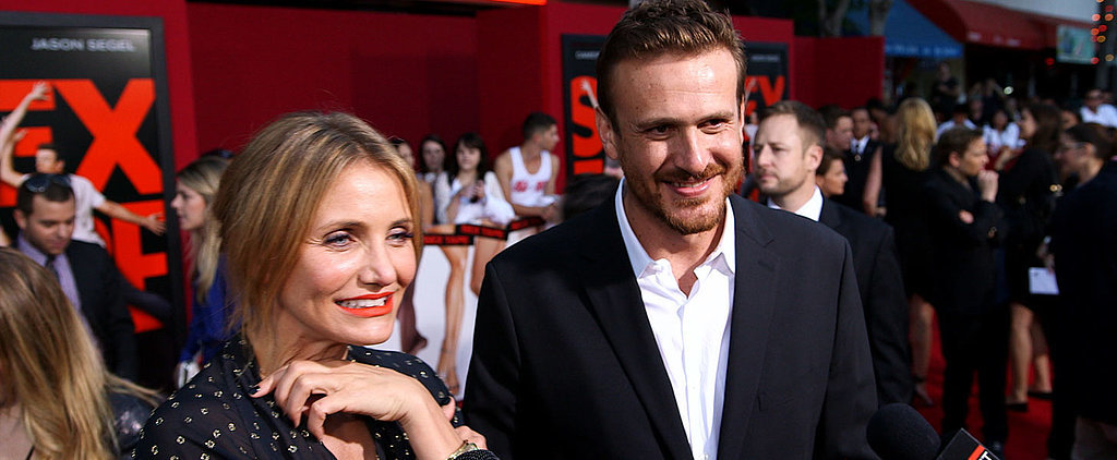 "Jason Segel's ""Sexy Sex Faces"" Crack Up Cameron Diaz"