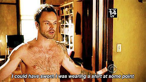 When he lost his shirt and we hoped he'd never find it.