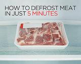 How to Defrost Meat in Just 5 Minutes