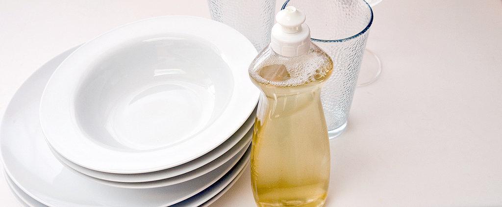 DIY Liquid Dishwasher Detergent