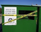"Those ""Charity"" Clothing Donation Bins Popping Up In Your Neighborhood Might Actually Be A Scam"