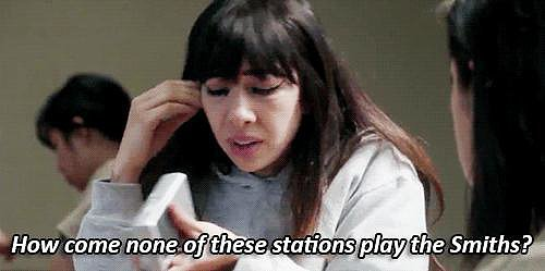Because of Flaca's surprising taste in music.
