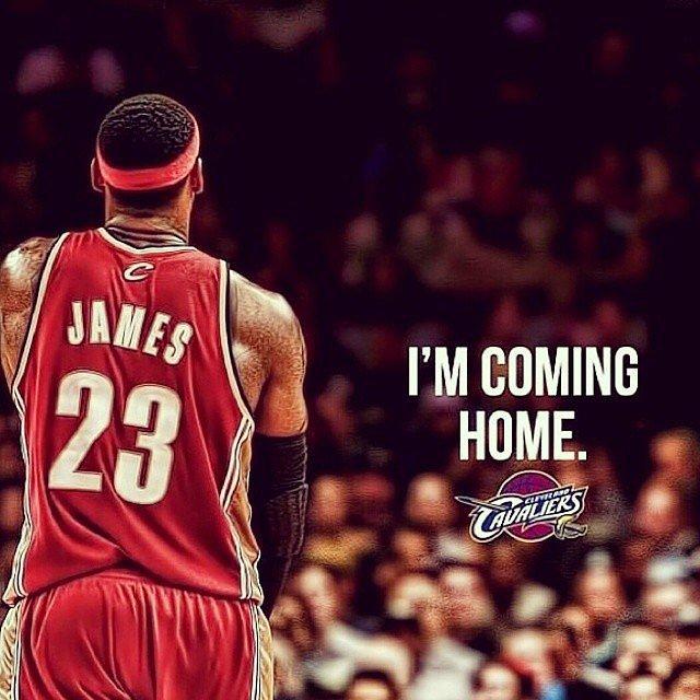 lebron james going back to cleveland cavaliers popsugar celebrity