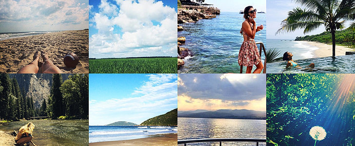 Get Lost in These Stunning Celebrity Summer Snaps