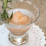 Vodka and Grapefruit Sorbet Cocktail