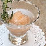 Vodka and Grapefruit Sorbet Cocktail