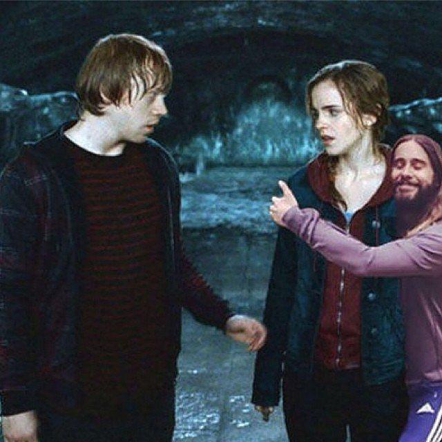 Jared Hugging Hermione Granger