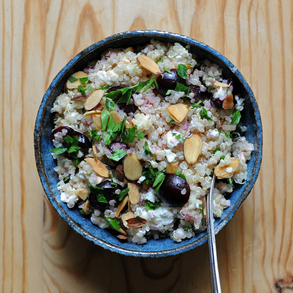 Feta and Cherry Quinoa Salad