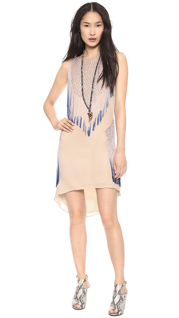 Haute Hippie Fringed Dress
