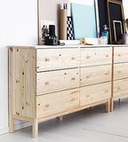 Aside from the $149 price, the best part about Ikea's Tarva dresser is that it's easy to customize!  Source: Ikea