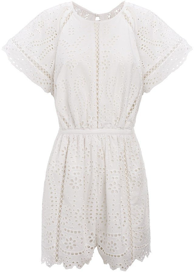 Zimmermann Embroidered Romper