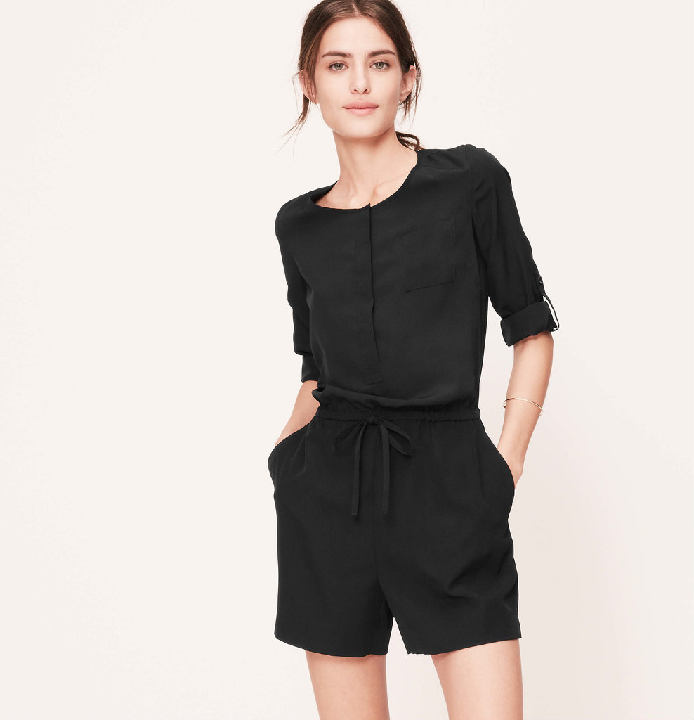 LOFT Long-Sleeved Romper