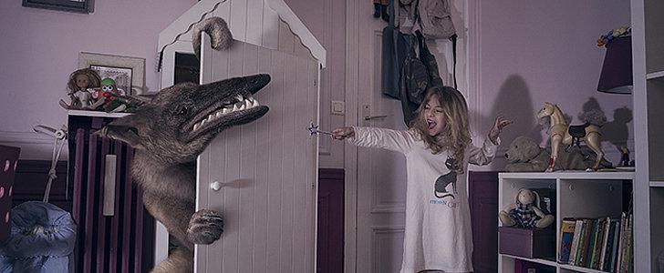 Kids Battle Bedtime Monster in Stunning Photo Series