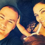 Channing Tatum and Jenna Dewan-Tatum snapped a selfie with their daughter, Everly. Source: Instagram user channingtatum