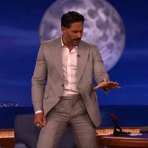 Video of Joe Manganiello Doing Stripper Dance Conan O'Brien