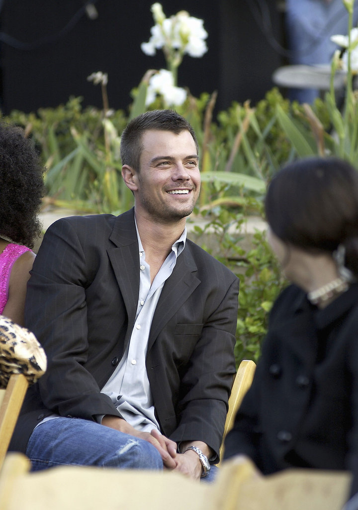 He smiled in a candid moment during a Beverly Hills, CA, luncheon in November 2004.