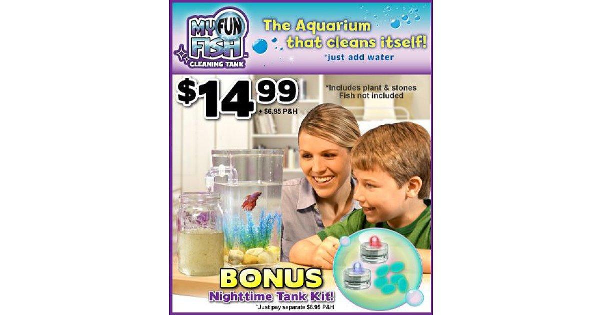 My fun fish cleaning tank 10 incredibly annoying for Fun fish tank